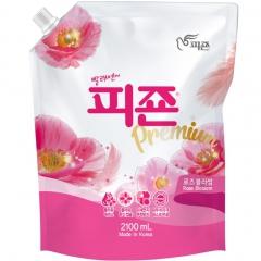 Pigeon Розовый сад Кондиционер для белья с ароматом роз (рефил) 2.1л