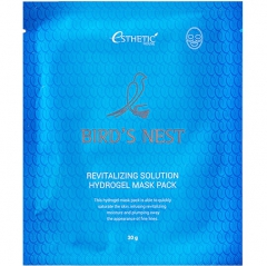 Esthetic House Bird's Nest Revitalizing Hydrogel Mask Pack Глубокоувлажняющая гидрогелевая маска 1шт