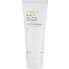 A'pieu Nonco Mastic Relaxing Gel Foam Успокаивающая гелевая пенка для умывания 150мл