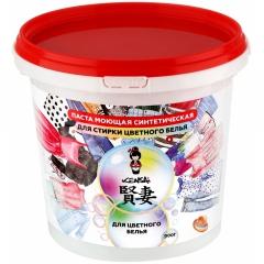 Kensai Паста моющая синтетическая для стирки цветного белья 900г