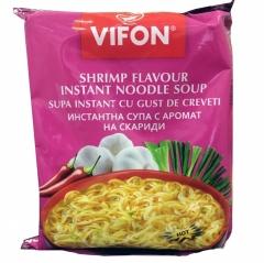 Vifon Shrimp Flavor Лапша быстрого приготовления Креветки 60г