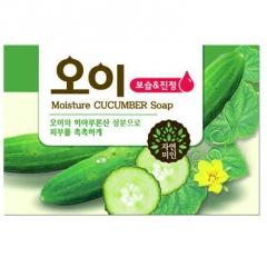 Mukunghwa Косметическое мыло с экстрактом огурца 100г