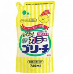 Mitsuei Кислородный жидкий отбеливатель для цветных тканей (рефил) 720мл