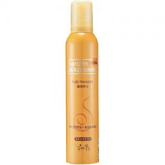 Flor de Man Keratin Silkprotein Hair Mousse Мусс для укладки волос с протеинами шелка 300мл