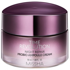 Missha Time Revolution Night Repair Probio Ampoule Cream Восстанавливающий ночной крем 50мл