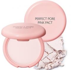 The Saem Saemmul Perfect Pore Pink Pact Пудра розовая с каламином для проблемной кожи 11г