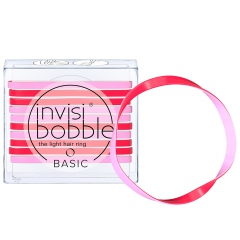 Invisibobble BASIC Jelly Twist Резинка для волос 10шт