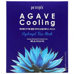 Petitfee Agave Cooling Hydrogel Face Mask Маска гидрогелевая с агавой 1шт