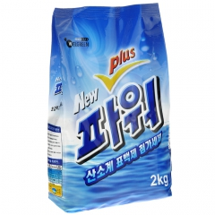 Welgreen New Power Plus Ферментный отбеливающий порошок с легким ароматом 2кг