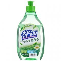 """CJ Lion Chamgreen Green Tea Средство для мытья посуды, овощей и фруктов """"Зеленый чай"""" 480мл"""