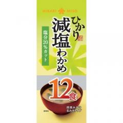 Hikari Miso Sokunama Wakame Jiro Мисо-суп быстрого приготовления с Вакаме (12шт) 216г