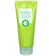 Deoproce Premium Green Tea Peeling Vegetal Пилинг-скатка на основе зеленого чая 170г