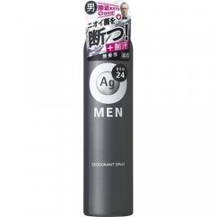 Shiseido Ag DEO24 Мужской спрей-антиперспирант с ионами серебра без запаха 100г