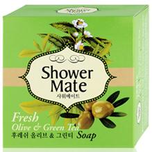 Kerasys Shower Mate Косметическое мыло косметическое (Оливковое) 100г