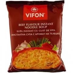 Vifon Beef Flavour Лапша быстрого приготовления Говядина 60г