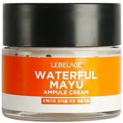 Lebelage Ampule Cream Waterful Mayu Ампульный крем увлажняющий с лошадиным маслом 70мл