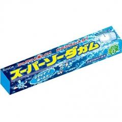Kracie Super Soda Gum Жевательная резинка со вкусом соды 35г