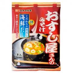 Hanamaruki Miso Soup Seafood Мисо суп быстрого приготовления со вкусом морепродуктов (3шт) 62.1г