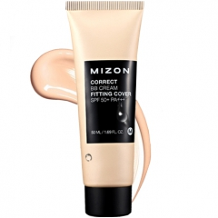 Mizon Correct BB Cream Fitting Cover Корректирующий увлажняющий BB крем SPF50+/PA+++ 50мл