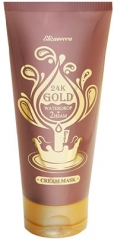 Elizavecca 24K Gold Waterdrop Cream Mask Увлажняющая крем-маска для лица с 24-каратным золотом 150мл