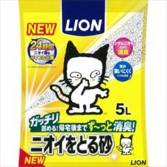 Lion Наполнитель бентонитовый для кошачьего туалета 5л