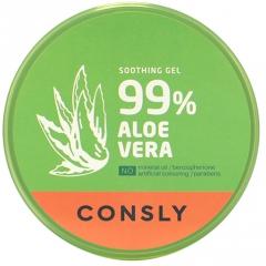 Consly 99% Aloe Vera Soothing Gel Успокаивающий гель с экстрактом алоэ 300мл