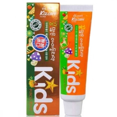 Mukunghwa Kizcare Kids Детская гелевая зубная паста с ярким тропическим вкусом с 2 лет 75г