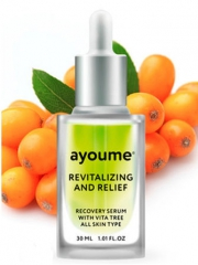Ayoume Vita Tree Revitalizing-&-Relief Serum Сыворотка для лица восстанавливающая 30мл