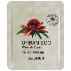 The Saem Urban Eco Waratah Cream Крем для лица с экстрактом телопеи 1мл