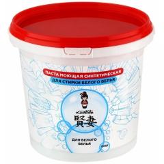 Kensai Паста моющая синтетическая для стирки белого белья 900г