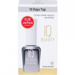 IQ Beauty 10 Days Top Суперстойкая защита маникюра 12.5мл