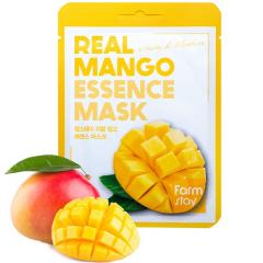 Farmstay Real Mango Essence Mask Тканевая маска для лица с экстрактом манго 1шт