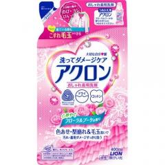 Lion Acron Средство для стирки деликатных тканей с ароматом цветов (рефил) 400мл