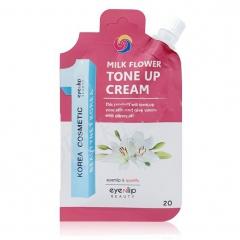 Eyenlip Milk Flower Tone Up Cream Крем для лица осветляющий 20г