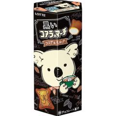 Lotte Мишки коала Печенье с тёмным шоколадом 48г