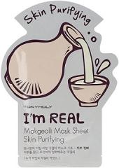 Tony Moly I'm Makgeolli Mask Sheet Маска с экстрактом рисового вина 1шт
