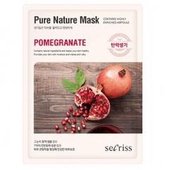 Anskin Secriss Pure Nature Mask Pack-Pomeganate Тканевая маска с экстрактом граната 25мл