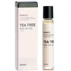 A'pieu NonCo Tea Tree Roll-On Oil Успокаивающая сыворотка-ролик с маслом чайного дерева 8мл