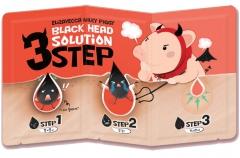 Elizavecca Milky Piggy Black Head Solution 3 Step Набор для удаления черных точек 1шт