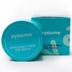 Ayoume Swallow`s Nest Eye Patch Омолаживающие патчи с экстрактом ласточкиного гнезда 60шт
