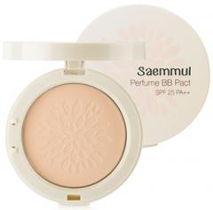 The Saem Saemmul Perfume BB Pact Компактная ароматизированная BB пудра SPF25/PA++ 20г