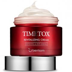 Berrisom Timetox Revitalizing Cream Восстанавливающий антивозрастной мультикапсульный крем 50г