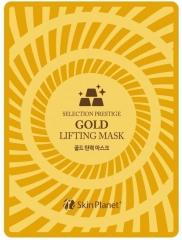 Mijin Skin Planet Gold Lifting Mask Маска тканевая для лица с золотом лифтинг-эффект 25г