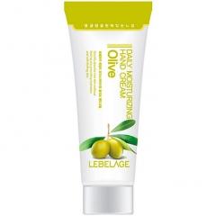 Lebelage Daily Moisturising Oilve Cream Увлажняющий крем для рук с экстрактом оливы 100мл