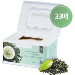 A'pieu Daily Sheet Mask Green Tea Soothing Набор успокаивающих тканевых масок с зеленым чаем 33шт