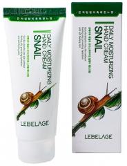 Lebelage Daily Moisturizing Snail Hand Cream Увлажняющий крем для рук с муцином улитки 100мл
