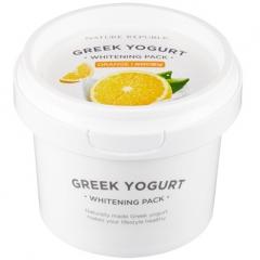 Nature Republic Greek Yogurt Moisturing Pack Йогуртовая осветляющая маска с апельсином 130мл