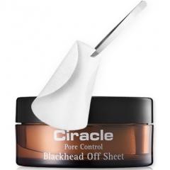 Ciracle Blackhead Off Sheet Эффективные салфетки для удаления черных точек 30шт