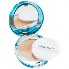 Enough Collagen Hydro Moisture Two Way Cake Увлажняющая коллагеновая пудра SPF25 PA++ 13г