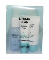 The Saem Derma Plan Mini 3 Set Набор для лица восстанавливающий 25мл/31мл/7мл